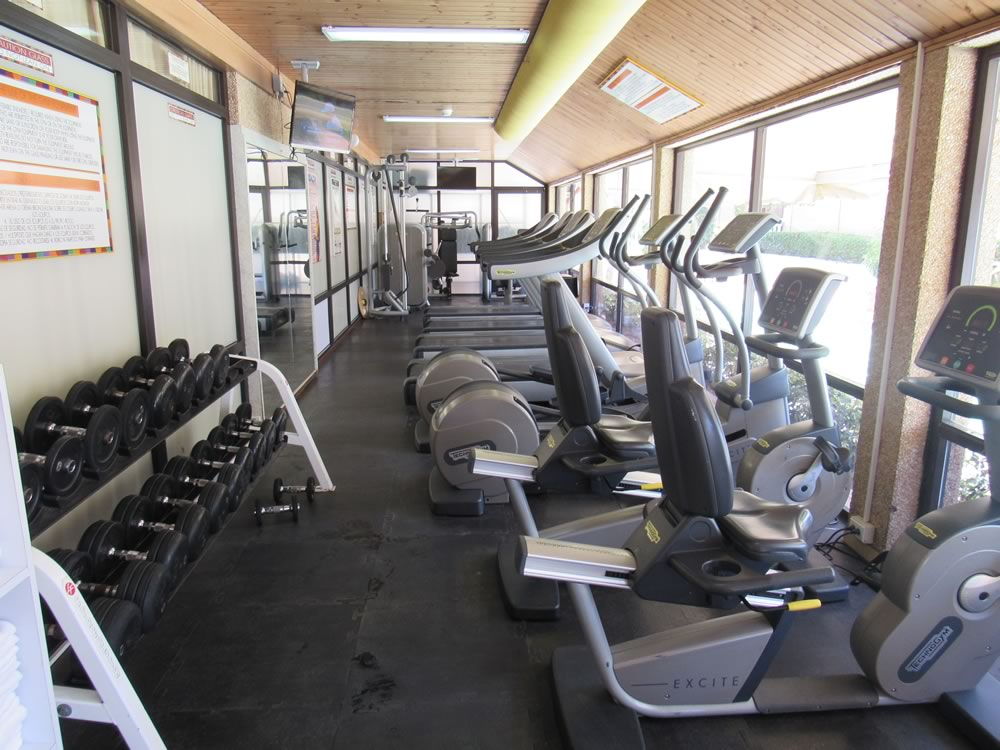 fitness center at Casa Del Mar Beach Resort Timeshare